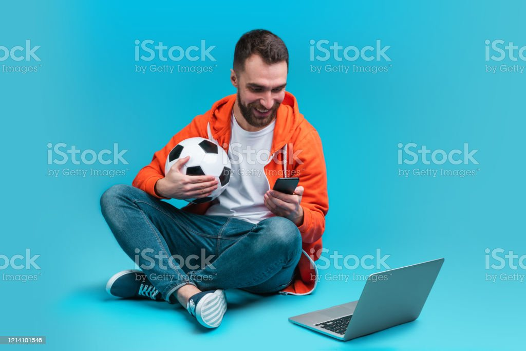 Young Bearded Man Betting Online At Bookmakers Website Stock Photo -  Download Image Now - iStock