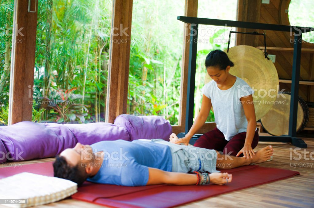 Young Beautiful And Exotic Asian Balinese Wellness Therapist