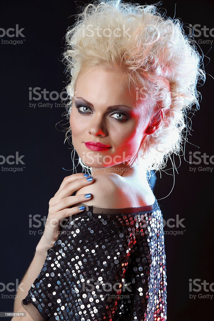 Young beautiful female royalty-free stock photo