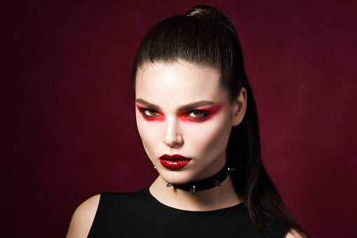 Gothic fashion stock photos