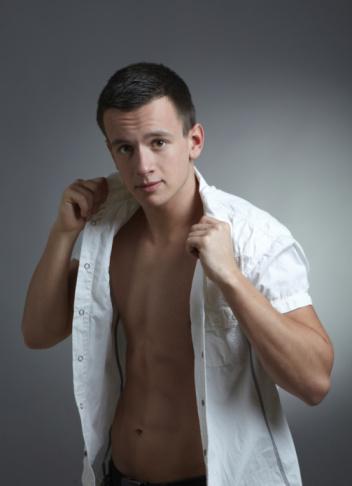 Young Beautiful Man-foton och fler bilder på Fotografi - Bild
