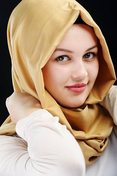 Cute hijab nud, nude creole models