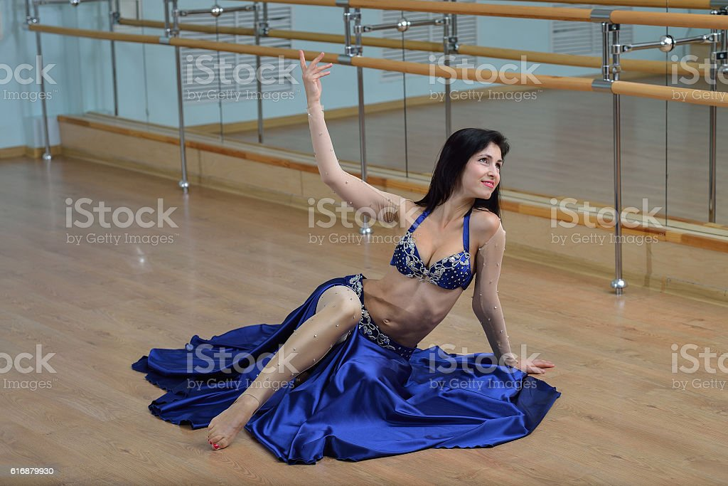 Young Beautiful Sexy Belly Dancer In Arabic Costume Dancing On Stock Photo More Pictures Of Adult Istock