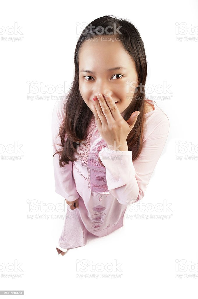 Young Beautiful Vietnamese girl stock photo