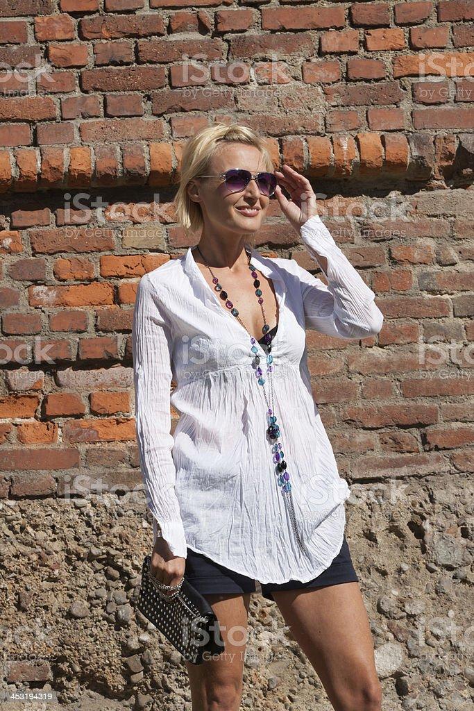 Young Beautiful Woman, Fashion Image - Italypse 2010 stock photo