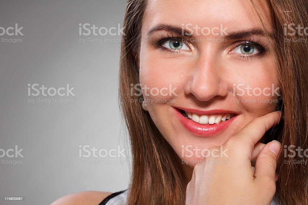 Young beautiful woman. royalty-free stock photo