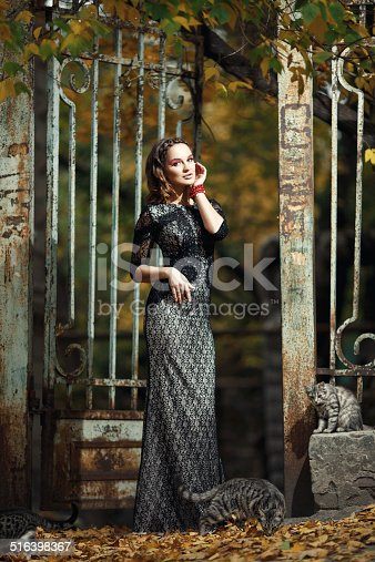 istock Young beautiful woman 516398367
