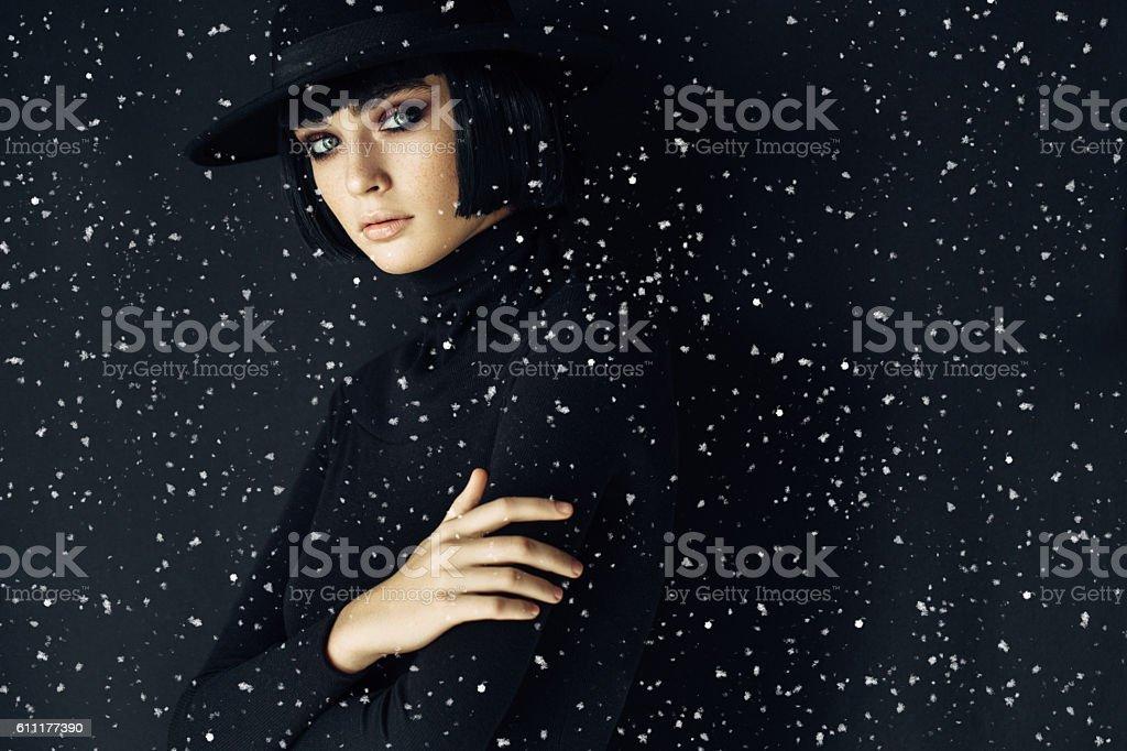 Joven hermosa mujer  - foto de stock
