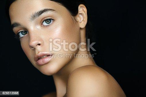 istock Young beautiful woman 626513568