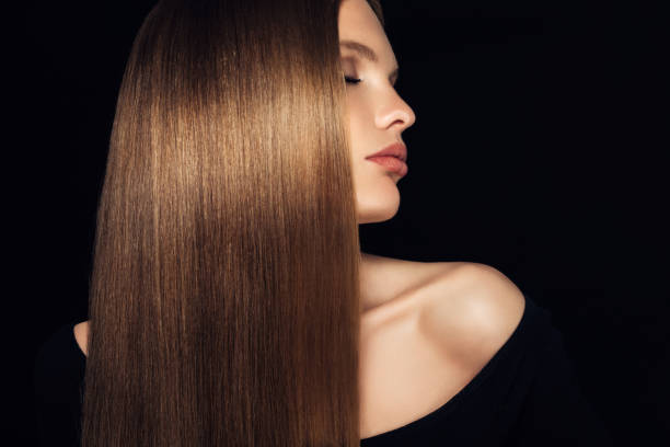 young beautiful woman - human hair stock photos and pictures
