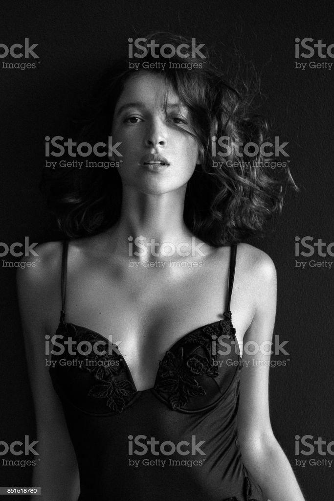 Young beautiful woman стоковое фото