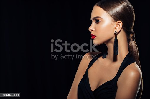 istock Young beautiful woman 880866444