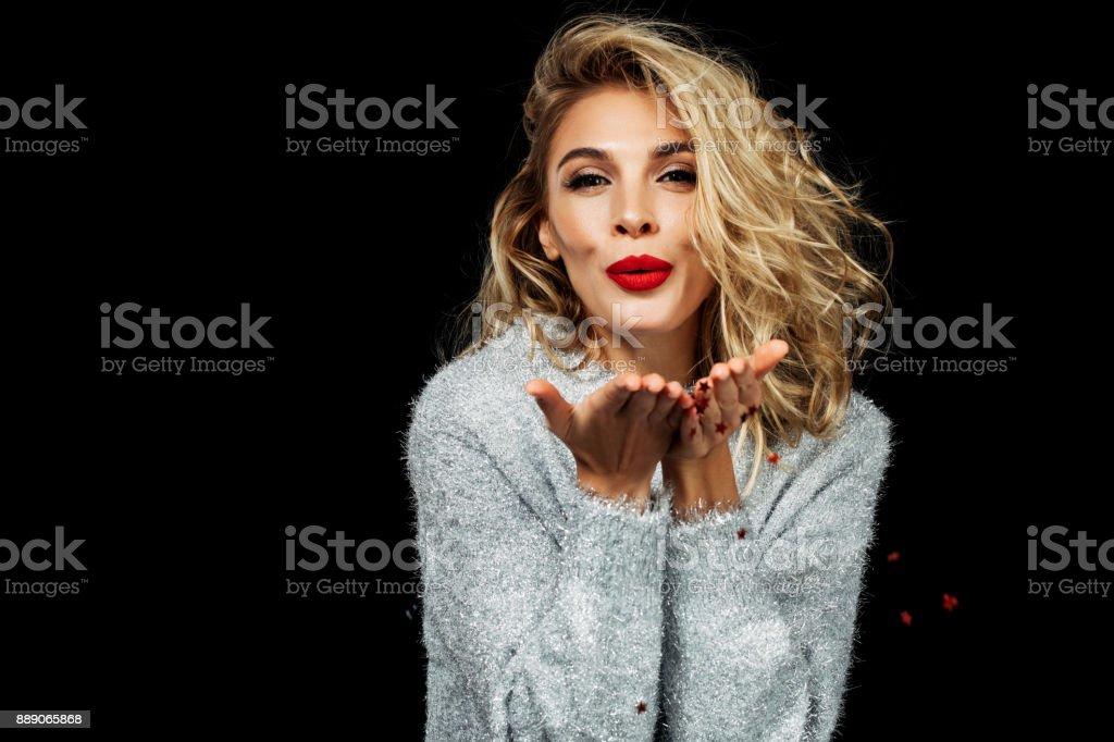Jovem mulher bonita - foto de acervo