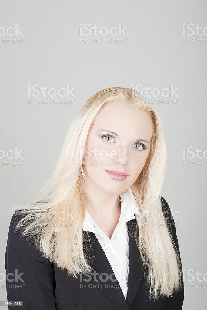 young beautiful woman royalty-free stock photo