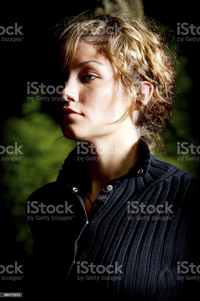 young beautiful woman portraits royalty free stockfoto