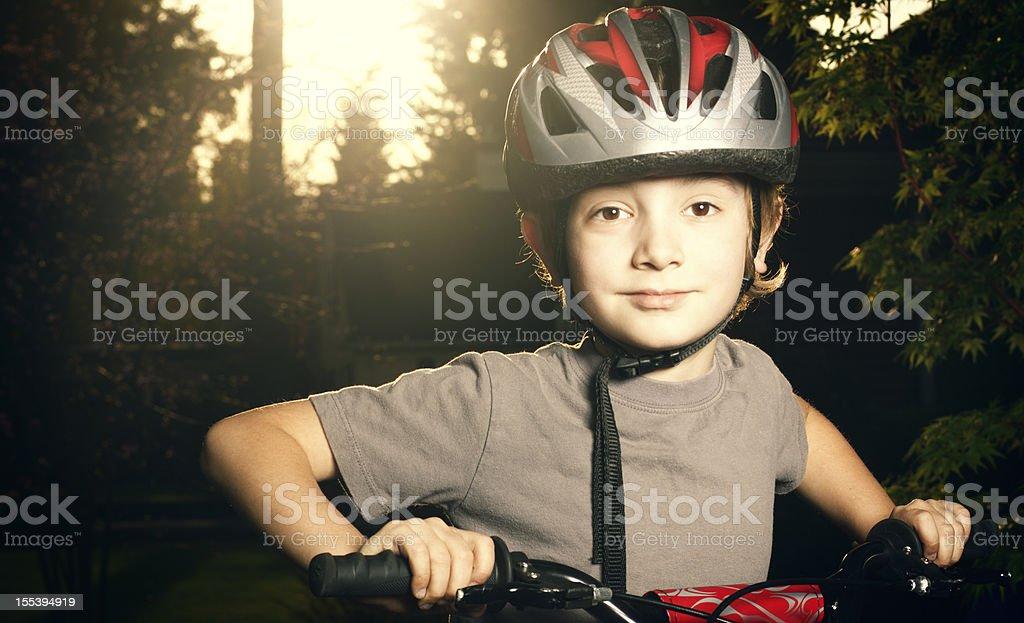 Junge Bicyclist – Foto