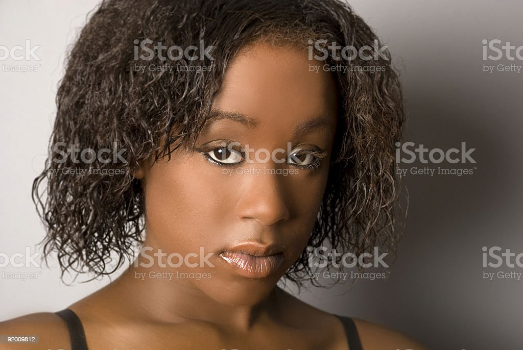 Young Black Female royalty-free stock photo
