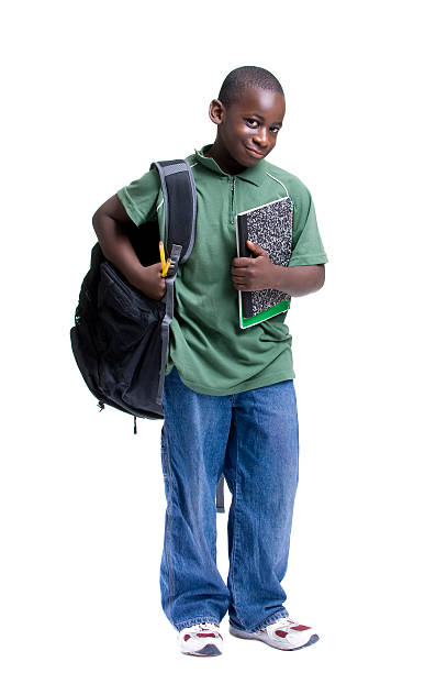 Young Black Male Student stock photo
