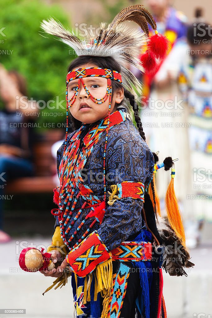 blackfoot indian native american tribe dancer clothing traditional canadian culture young child canada alberta children province wears park britannica festival
