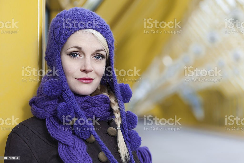 young blonde girl royalty-free stock photo