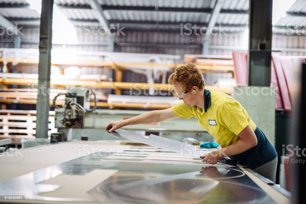 Production and manufacturing in Australia is rising and strengthening...