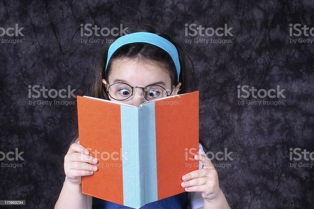 Young Bookworm royalty-free stock photo