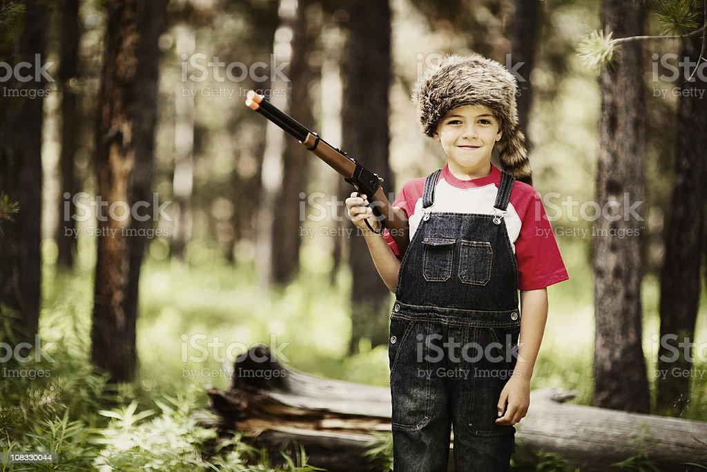 Young Boone royalty-free stock photo