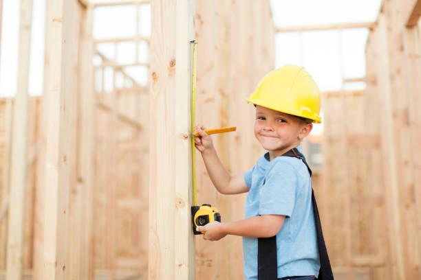 Junge Bauarbeiter – Foto