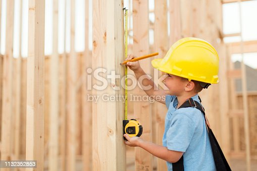 527687520 istock photo Young Boy Construction Worker 1132352853