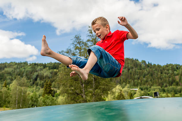 Royalty Free Boy Trampoline Pictures, Images And Stock -5809