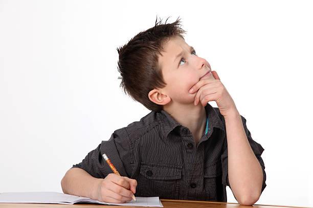 Kleiner Junge Lernen – Foto
