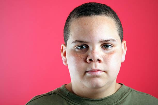 Traurige Junge – Foto