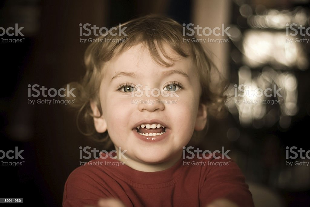 young boy smile royalty-free stock photo