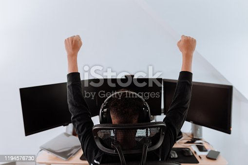 young boy streaming games