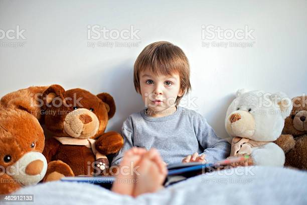 Young boy with an open book in his lap surrounded by teddies picture id462912133?b=1&k=6&m=462912133&s=612x612&h=quyjuijx9czmprb8vlsivqsnzolzhopvrj4 y1vpuog=