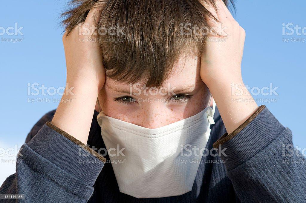 masque anti pollution enfant garcon