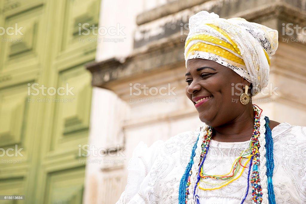Young Brazilian woman of African descent, Bahia, Brazil - foto de acervo