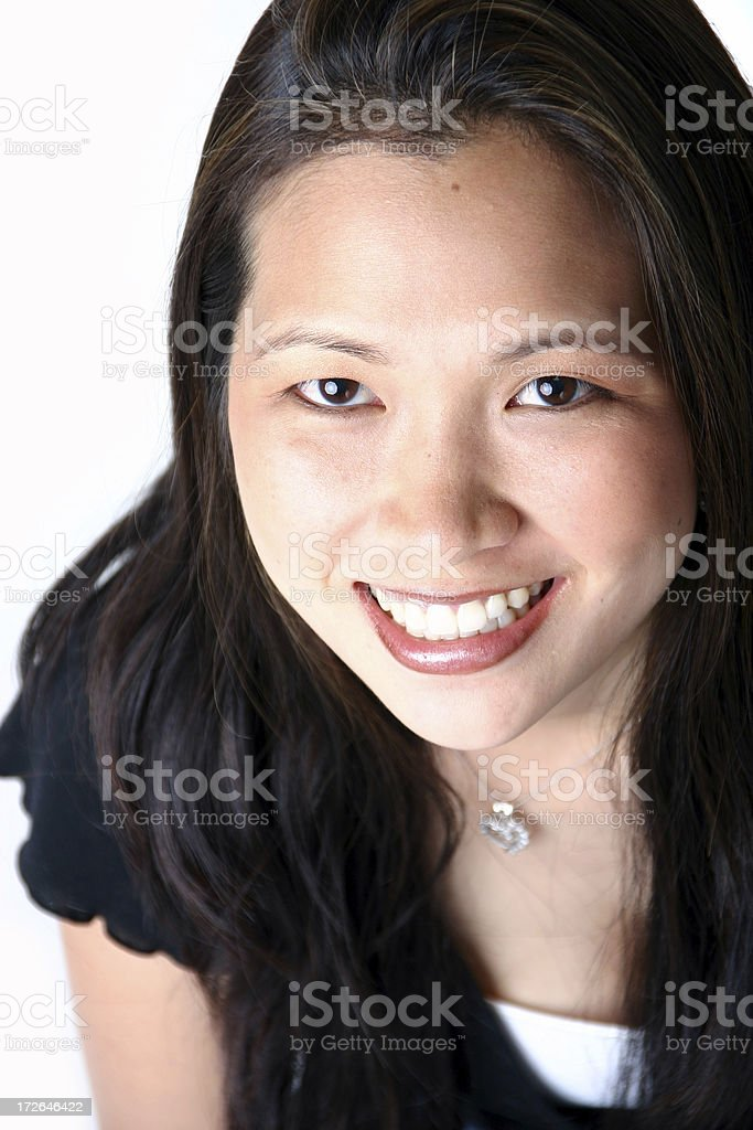 Young Brunette royalty-free stock photo