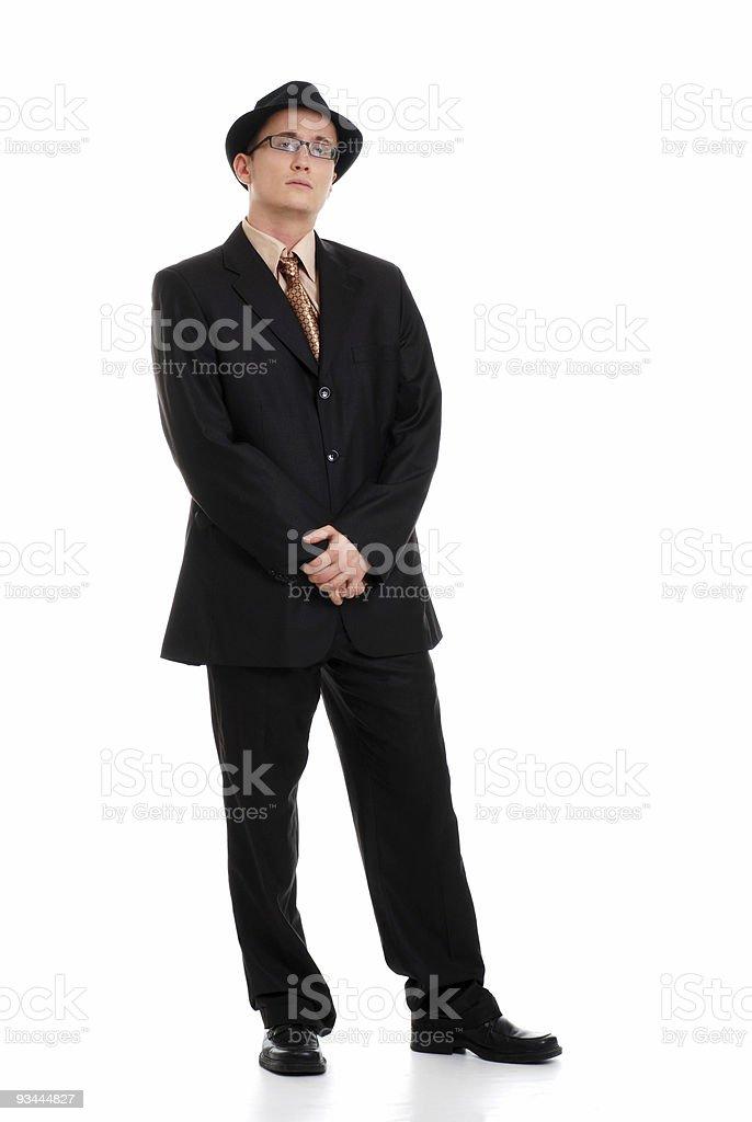 Junge Business Mann Lizenzfreies stock-foto