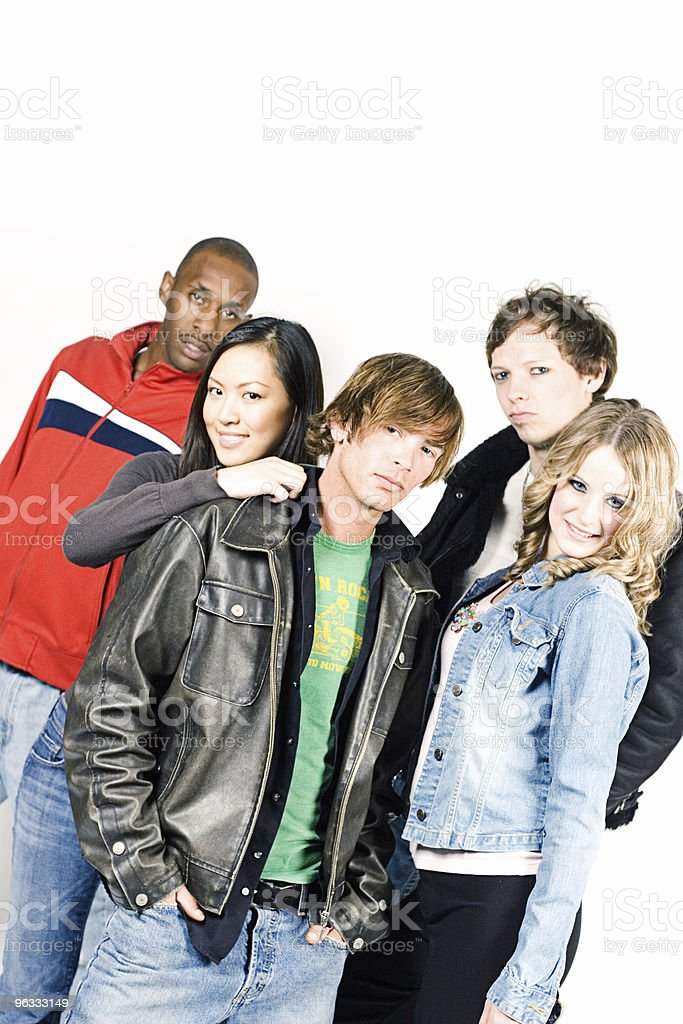 Young Bunch royalty-free stock photo