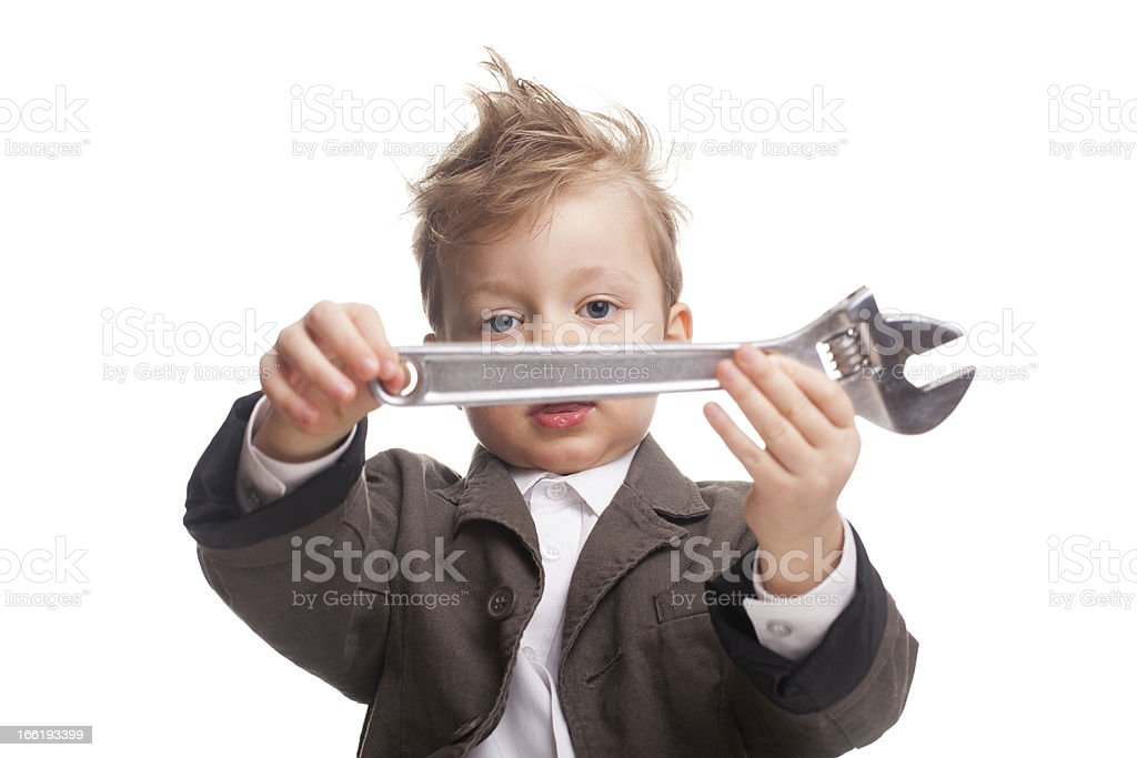 Young business adviser royalty-free stock photo