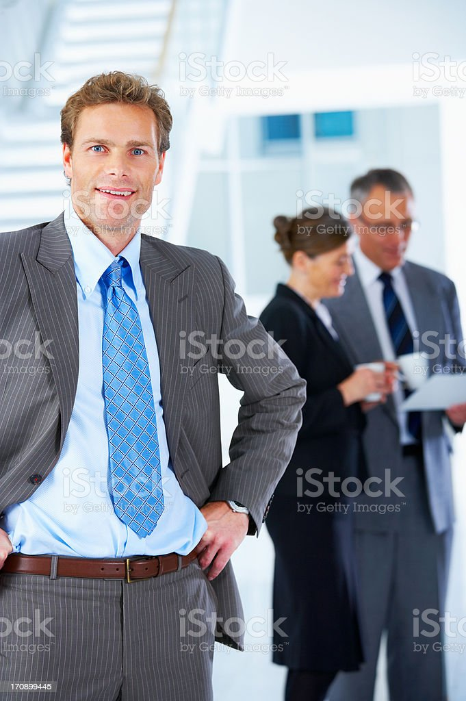 Young business executive royalty-free stock photo