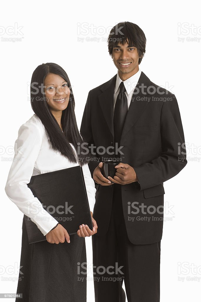 Young Business Executives royalty-free stock photo