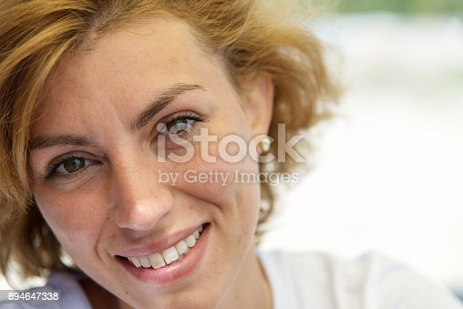 628497270 istock photo Young business lady rests on the beach. 894647338