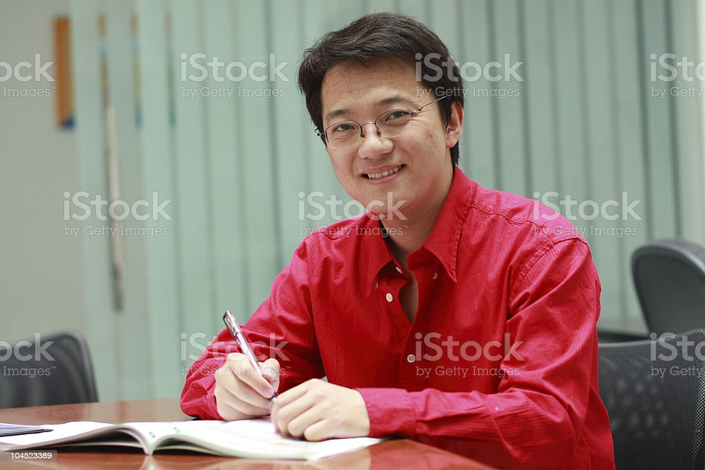 young business man royalty-free stock photo