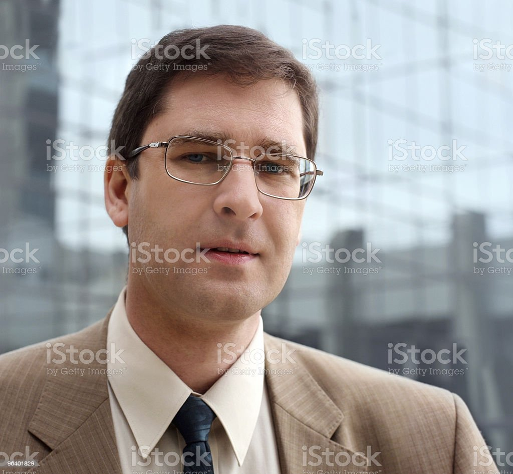 Young business man - Royalty-free Adult Stock Photo