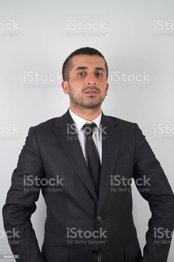Young business man. royalty-free stock photo