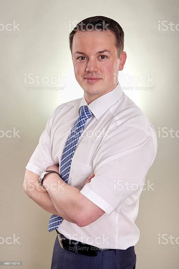young business man successful stock photo