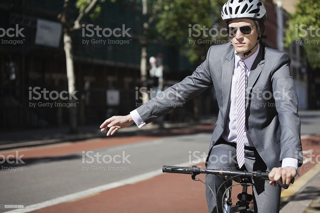 Young Business Outdoors stock photo