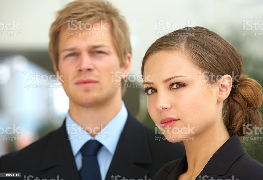 Young Business Partners royalty-free stock photo
